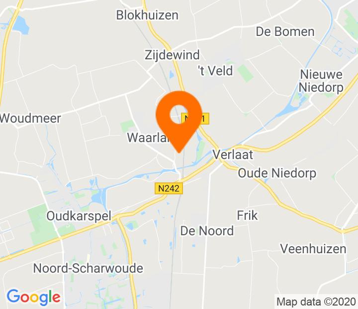 Google Map of 52.722425,4.842344