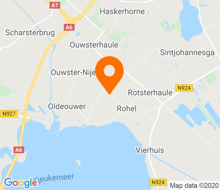 Google Map of 52.921916,5.822243