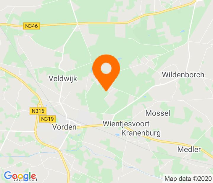 Google Map of 52.116971,6.3384