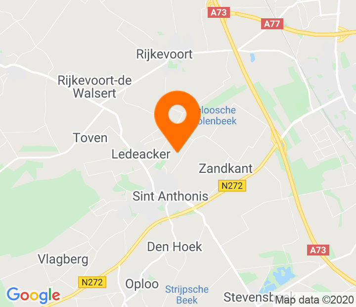 Google Map of 51.636299,5.887597