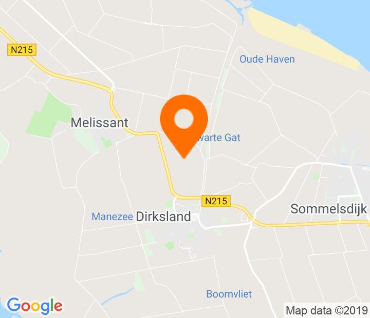 Google Map of 51.762425,4.09917