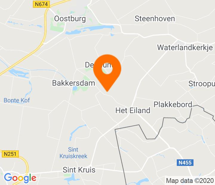 Google Map of 51.300411,3.5112