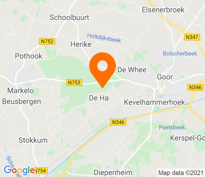 Google Map of 52.232658,6.549705