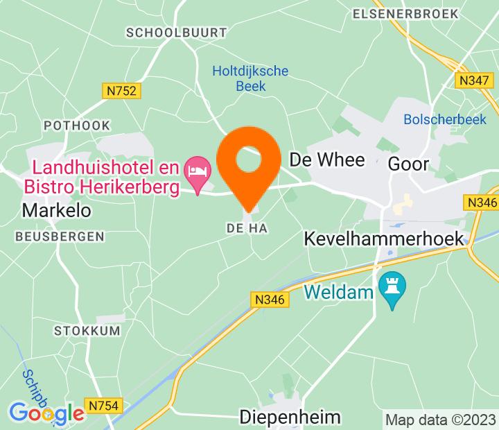 Google Map of 52.231232,6.547837