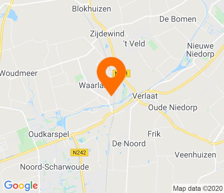 Google Map of 52.722119,4.842424