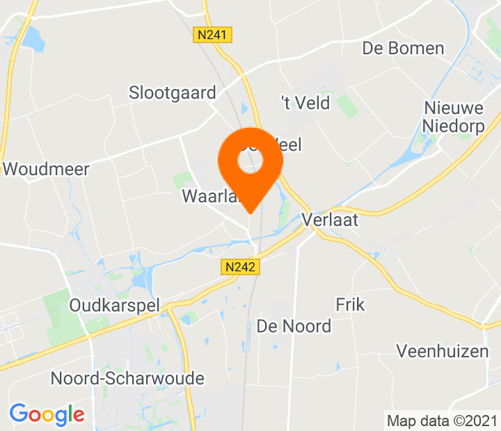 Google Map of 52.723033,4.84136