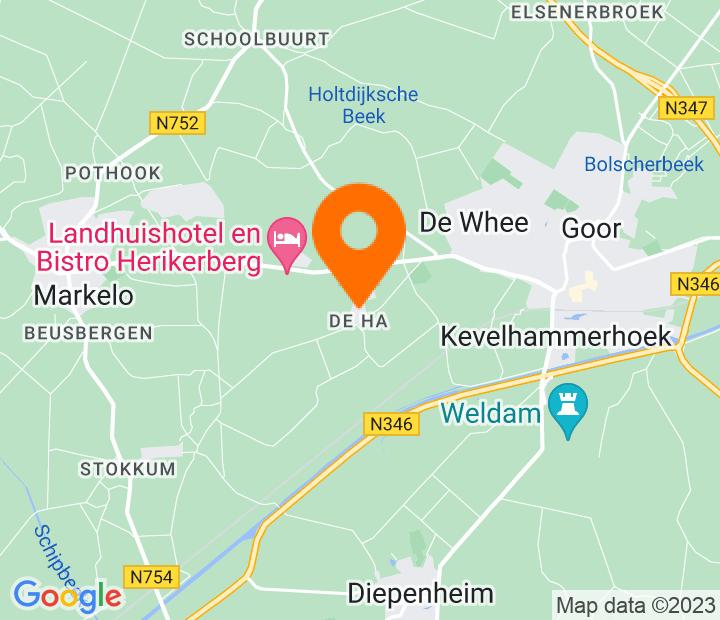 Google Map of 52.230319,6.547445
