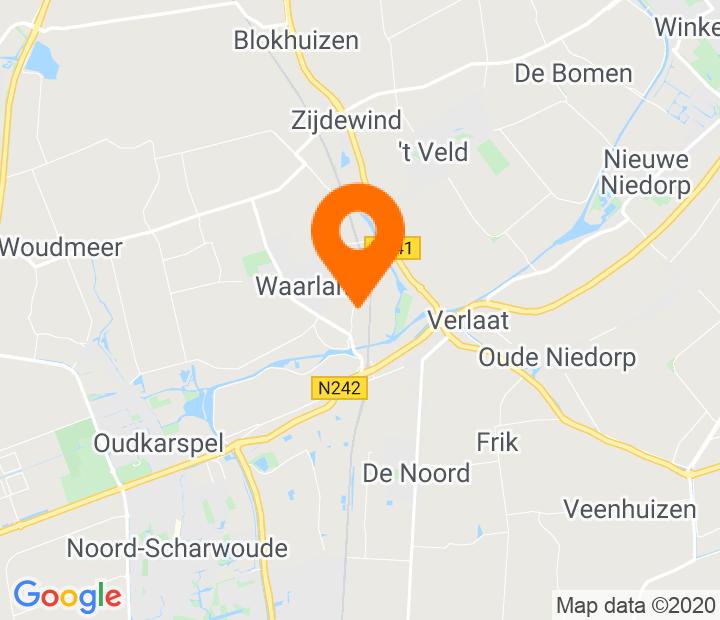 Google Map of 52.723397,4.842102