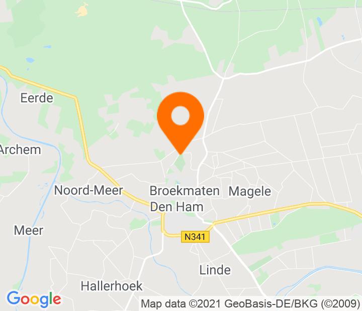 Google Map of 52.475056,6.495657