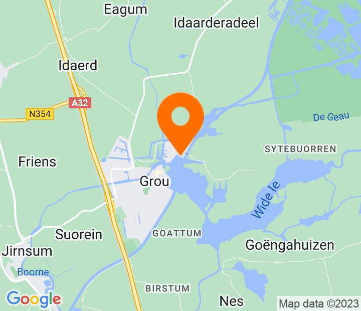Google Map of 53.1001157,5.8479776
