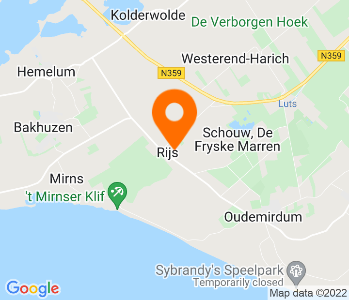 Google Map of 52.863656,5.501849