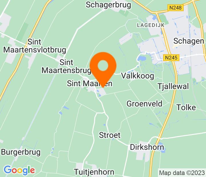 Google Map of 52.770841,4.753049