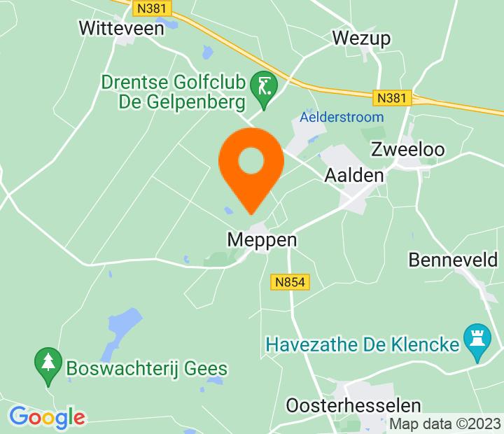Google Map of 52.78561,6.692413