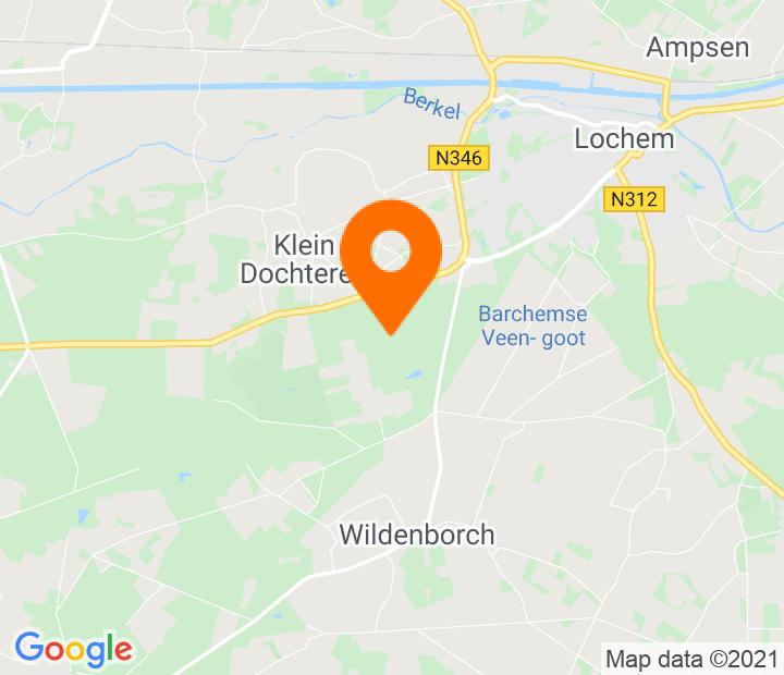 Google Map of 52.142122,6.378937