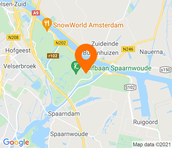 Google Map of 52.430894,4.706721
