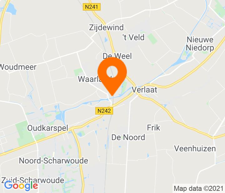 Google Map of 52.720092,4.843266