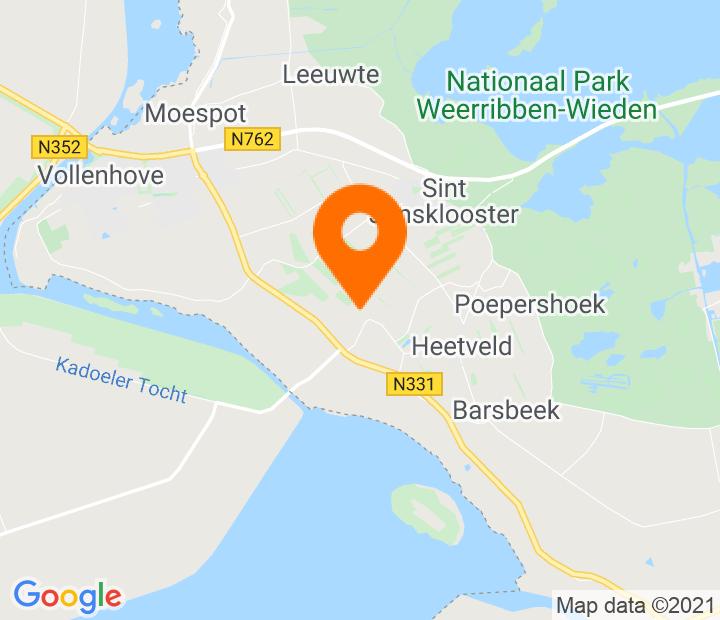 Google Map of 52.666741,5.99382
