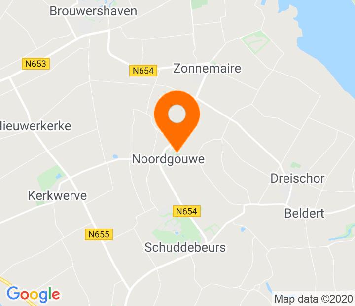 Google Map of 51.69467,3.941296