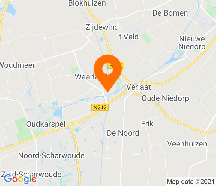 Google Map of 52.720381,4.843313