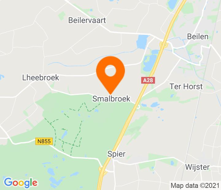 Google Map of 52.840113,6.465962
