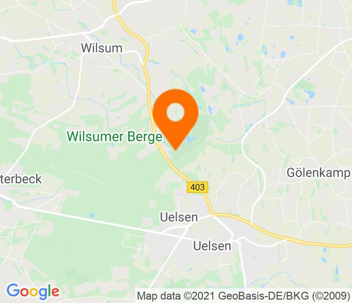 Google Map of 52.514026,6.865419