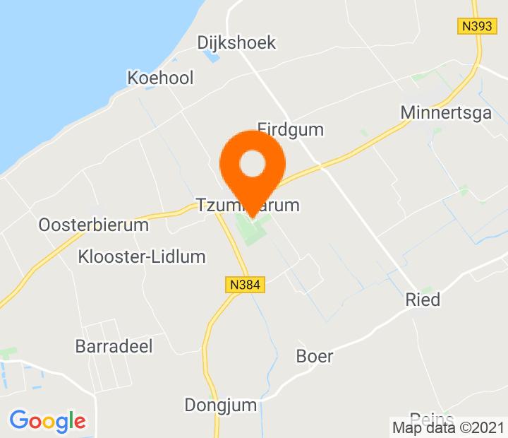 Google Map of 53.235352,5.551085