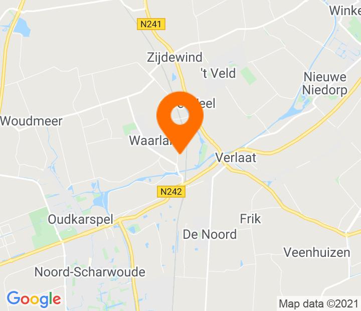 Google Map of 52.722857,4.84188