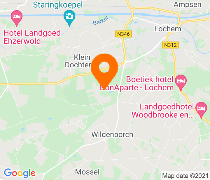 Google Map of 52.139101,6.37845