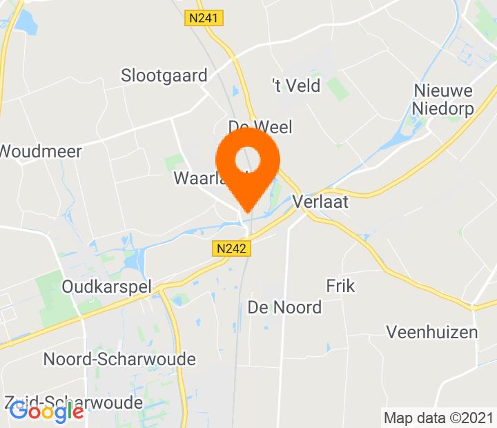 Google Map of 52.720428,4.842993