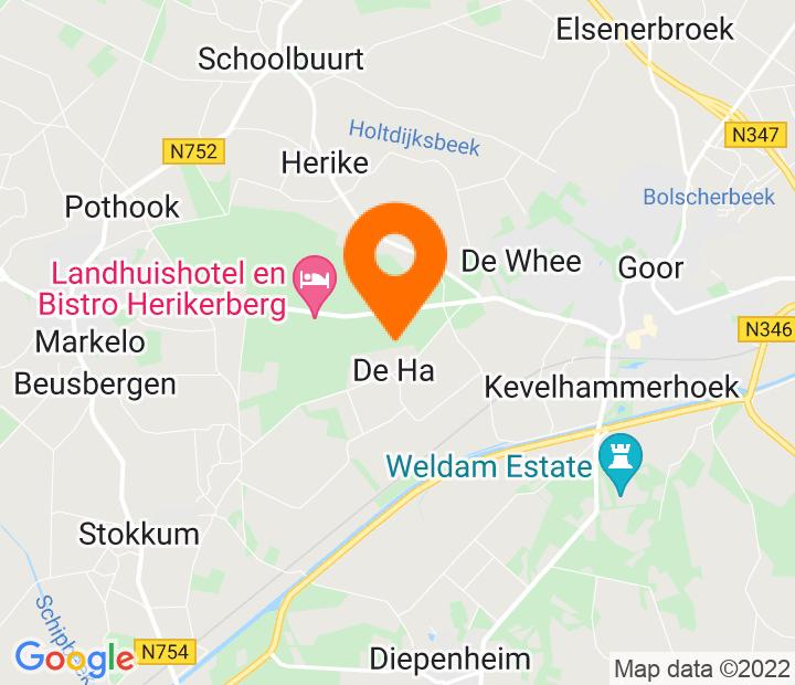 Google Map of 52.231757,6.547729