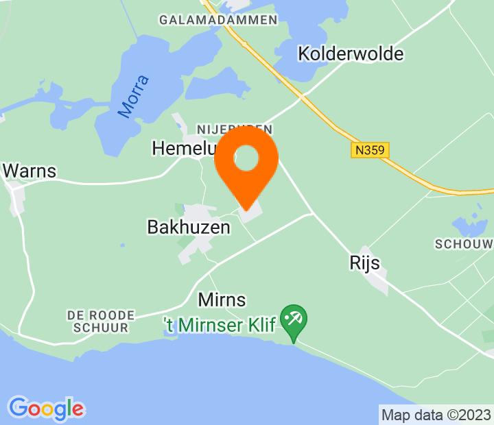 Google Map of 52.870832,5.469797