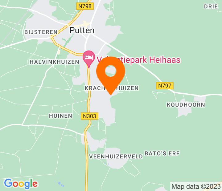 Google Map of 52.2364593,5.6215639