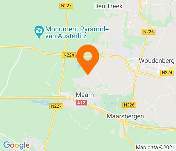 Google Map of 52.075033,5.377202