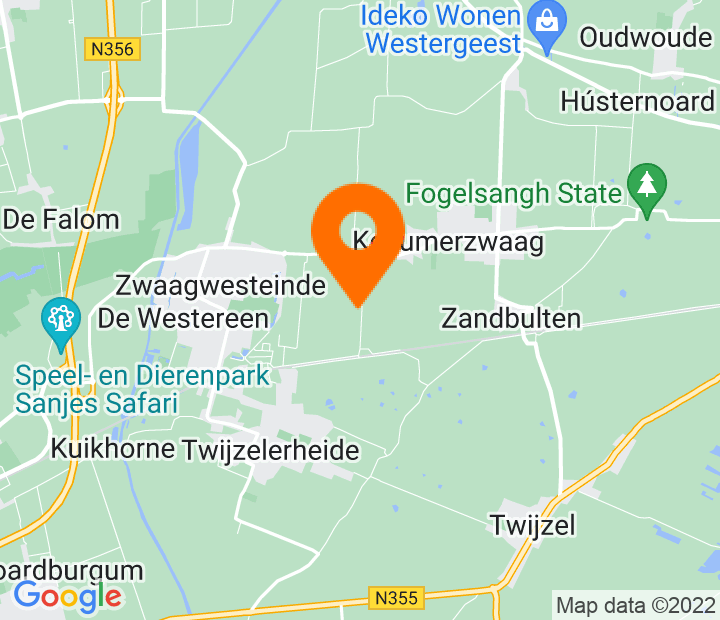 Google Map of 53.253969,6.060302