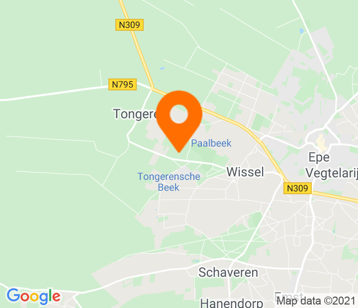 Google Map of 52.345692,5.935462