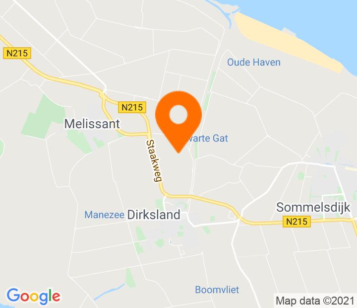 Google Map of 51.763633,4.100749