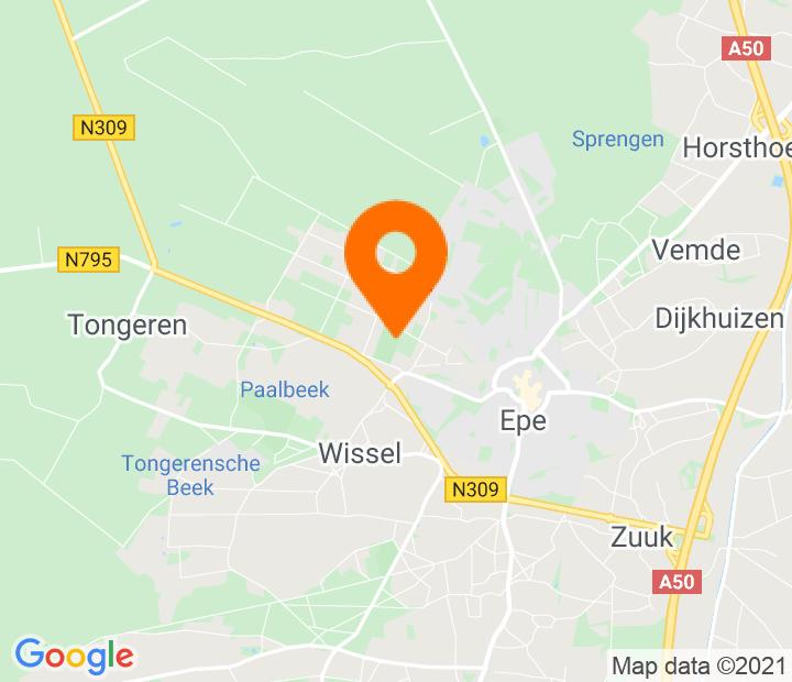 Google Map of 52.352629,5.963962