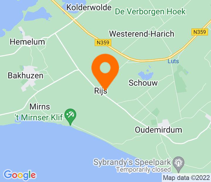 Google Map of 52.863098,5.502142