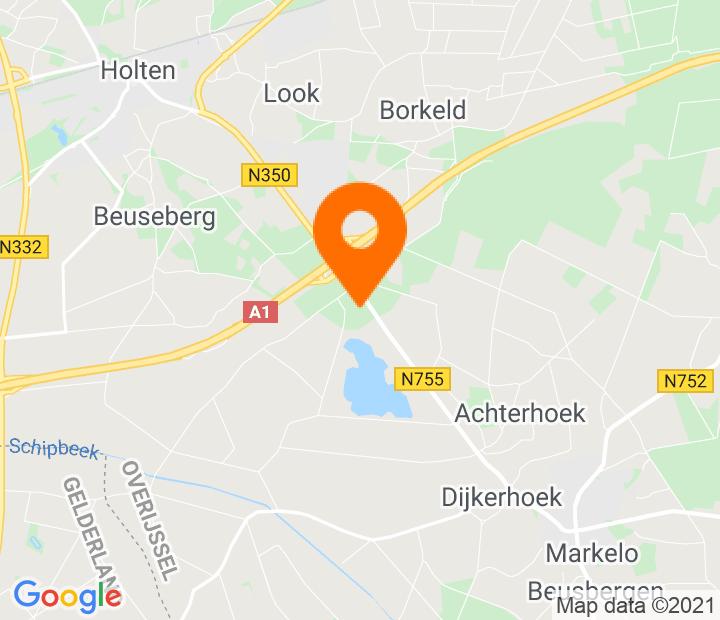 Google Map of 52.25753,6.460465