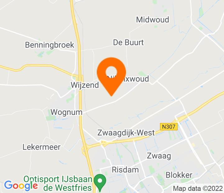 Google Map of 52.686903,5.047778