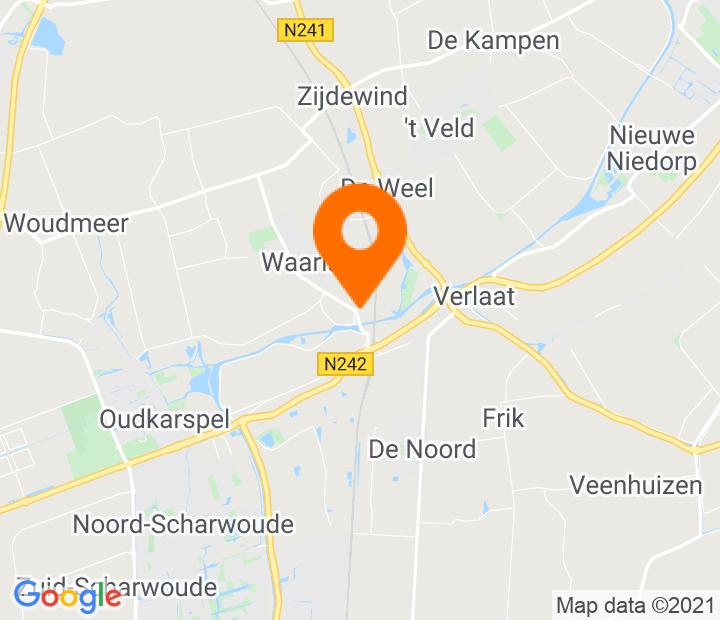 Google Map of 52.720901,4.841348