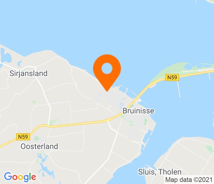 Google Map of 51.669525,4.076783