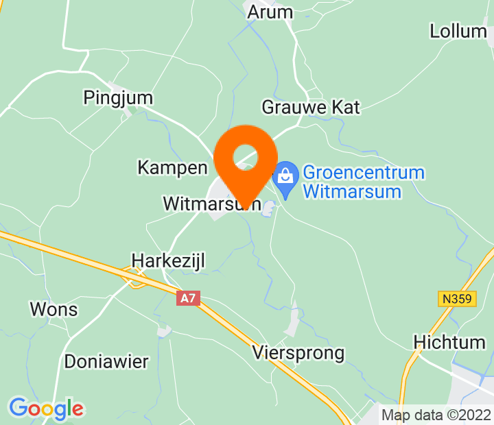 Google Map of 53.236134,5.550203