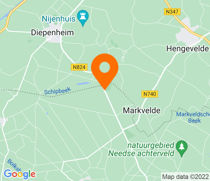 Google Map of 52.179585885871,6.5866764791754