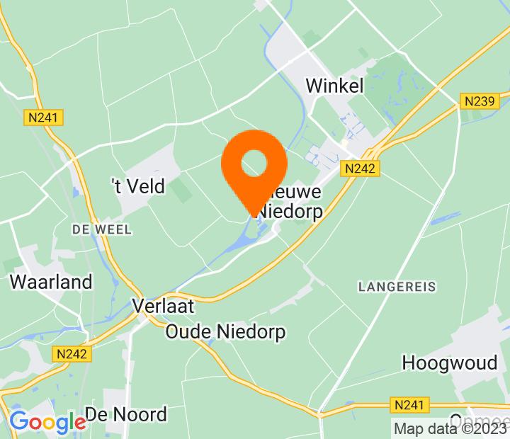 Google Map of 52.734998,4.883156