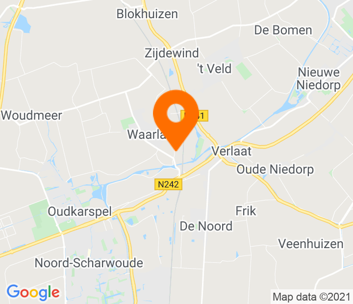 Google Map of 52.722146,4.841486