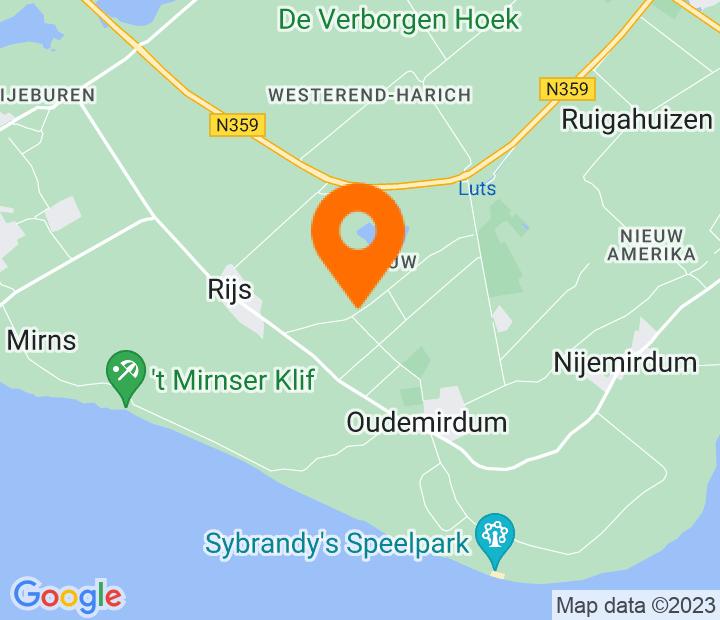 Google Map of 52.86108,5.521516