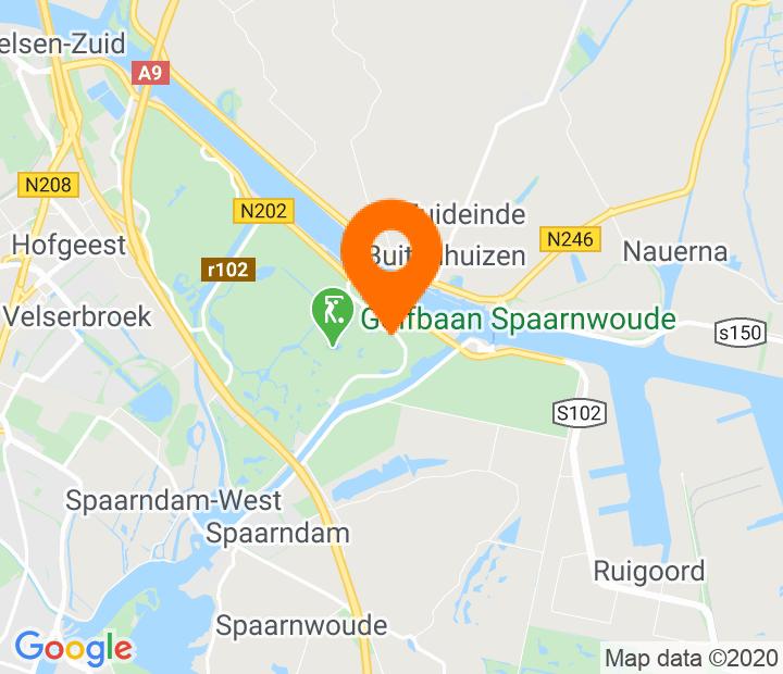 Google Map of 52.432338,4.708777
