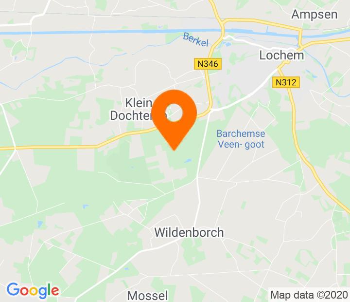 Google Map of 52.140572,6.377793
