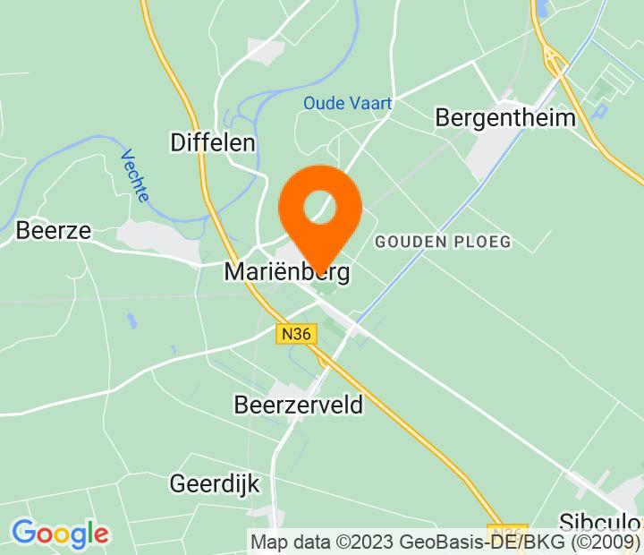 Google Map of 52.5079931,6.5792802999999